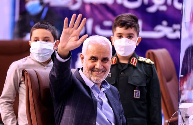<p>Mohsen Mehralizadeh, seen as one of the reformist candidates</p>