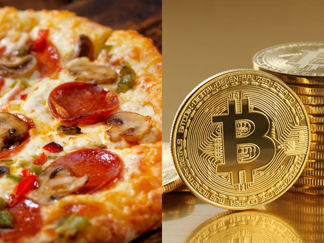 <p>Crypto developer spent $378m worth of fledgling Bitcoin on pizza lunch</p>