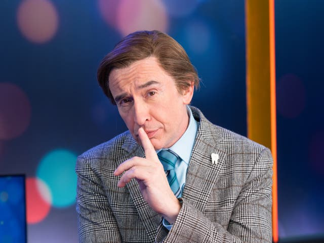 Steve Coogan as Alan Partridge in This Time with Alan Partridge