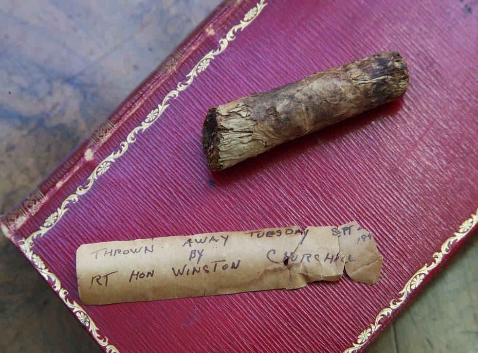 Sir Winston Churchill cigar auction