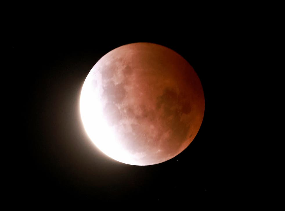 <p>The Partial Eclipse of the moon begins on May 26, 2021 in Auckland, New Zealand</p>