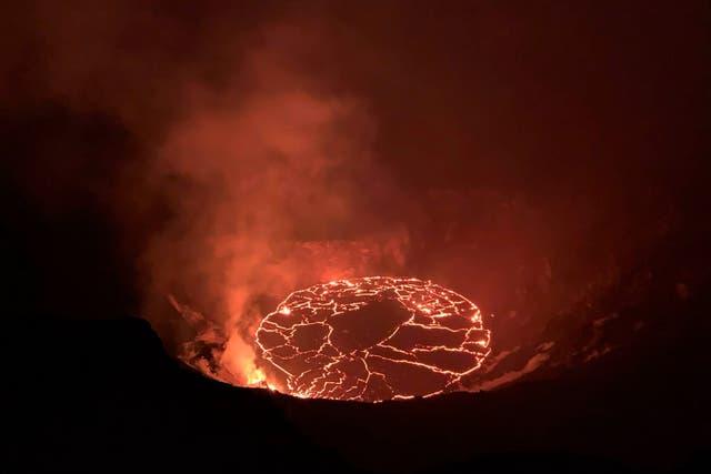 Kilauea Volcano-Eruption Pause