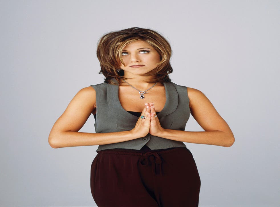 LIBRARY. USA. Jennifer Aniston AS Rachel Green in the ©Warner Bros. TV series : Friends – season 2 ( 1994-2004 ) Ref: LMK106-J6677-220420Supplied by LMKMEDIA. Editorial Only.Landmark Media is not the copyright owner of these Film or TV stills but pr