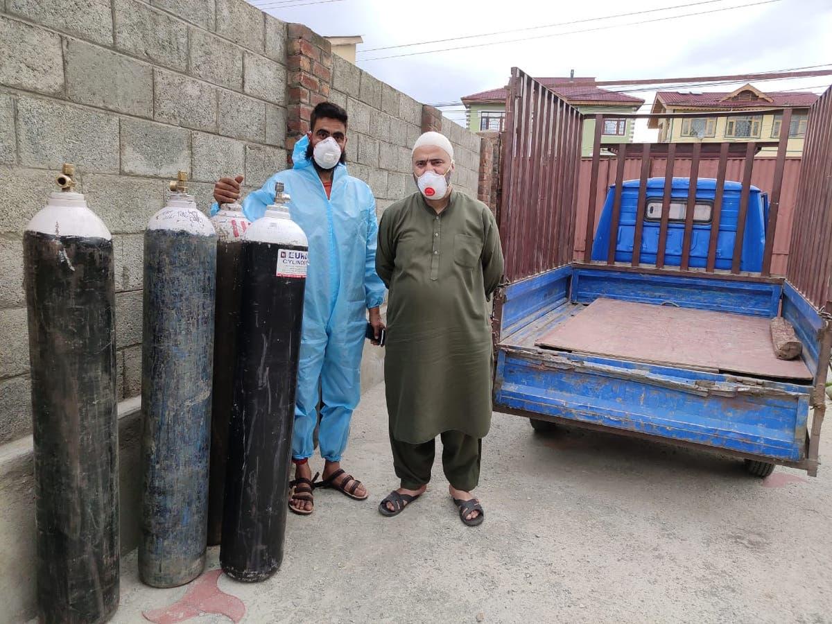 Kashmir's 'oxygen gag' prevents good samaritans from helping breathless citizens