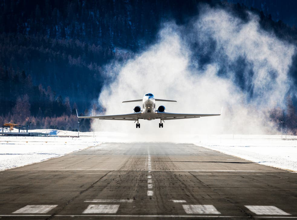 Private jet use is at pre-pandemic levels