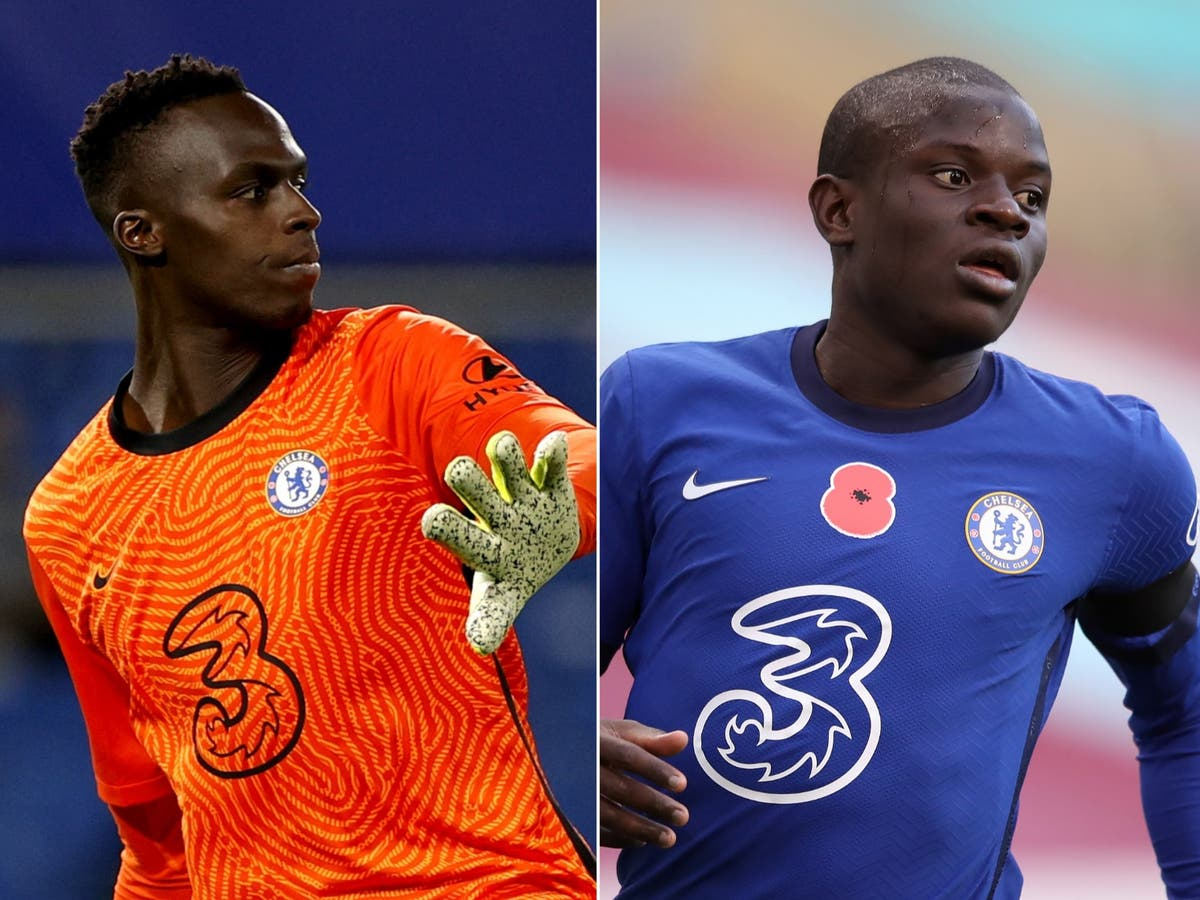Chelsea include Edouard Mendy and N'Golo Kante in ...