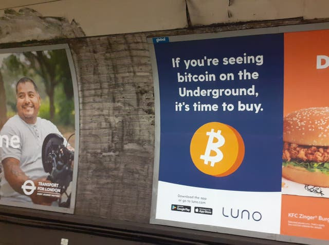 The Luno ad banned by the ASA