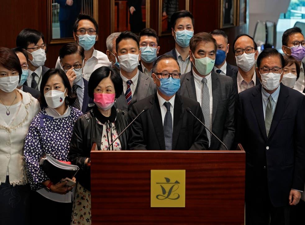 HONG KONG-LEY ELECTORAL
