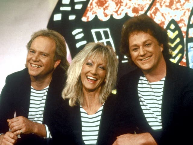 <p>From left to right: Freddy Marks, Jane Tucker and Rod Burton</p>