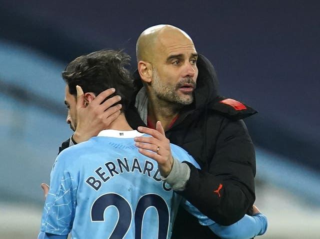 Pep Guardiola has utilised Bernardo Silva as a false nine