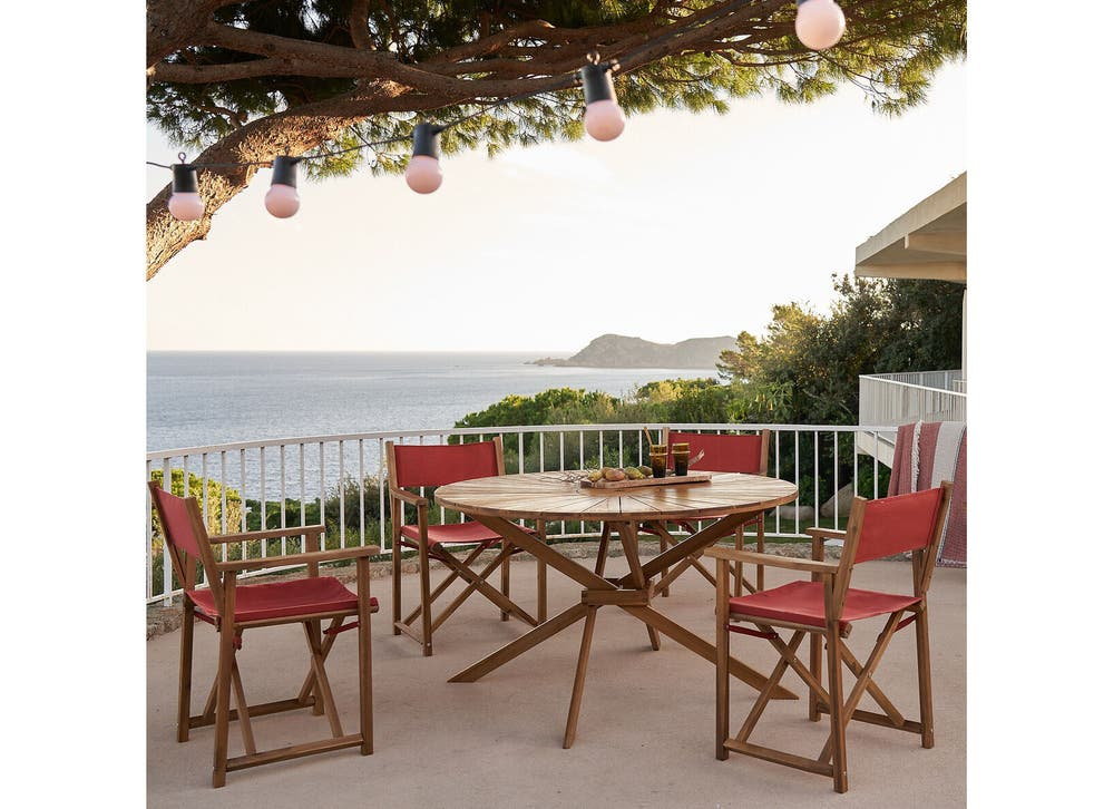 Best Outdoor Table Big Small And, Round Wooden Garden Table And Chairs Ireland