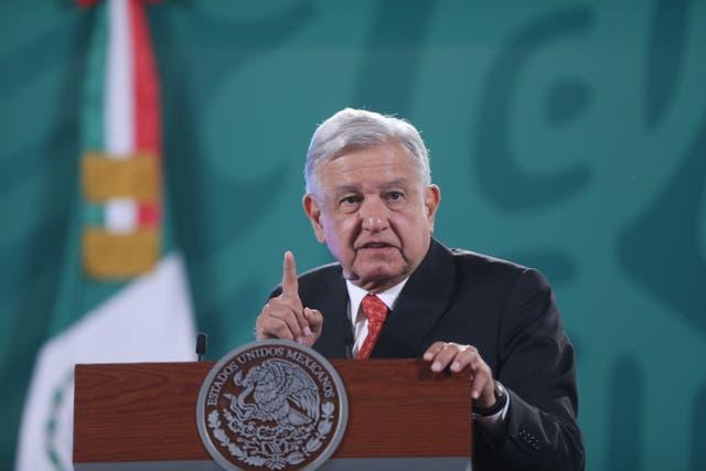 <p>Presidente de México Andrés Manuel López Obrador</p>
