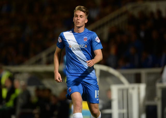 Rhys Oates was among the Hartlepool scores in the win over Weymouth