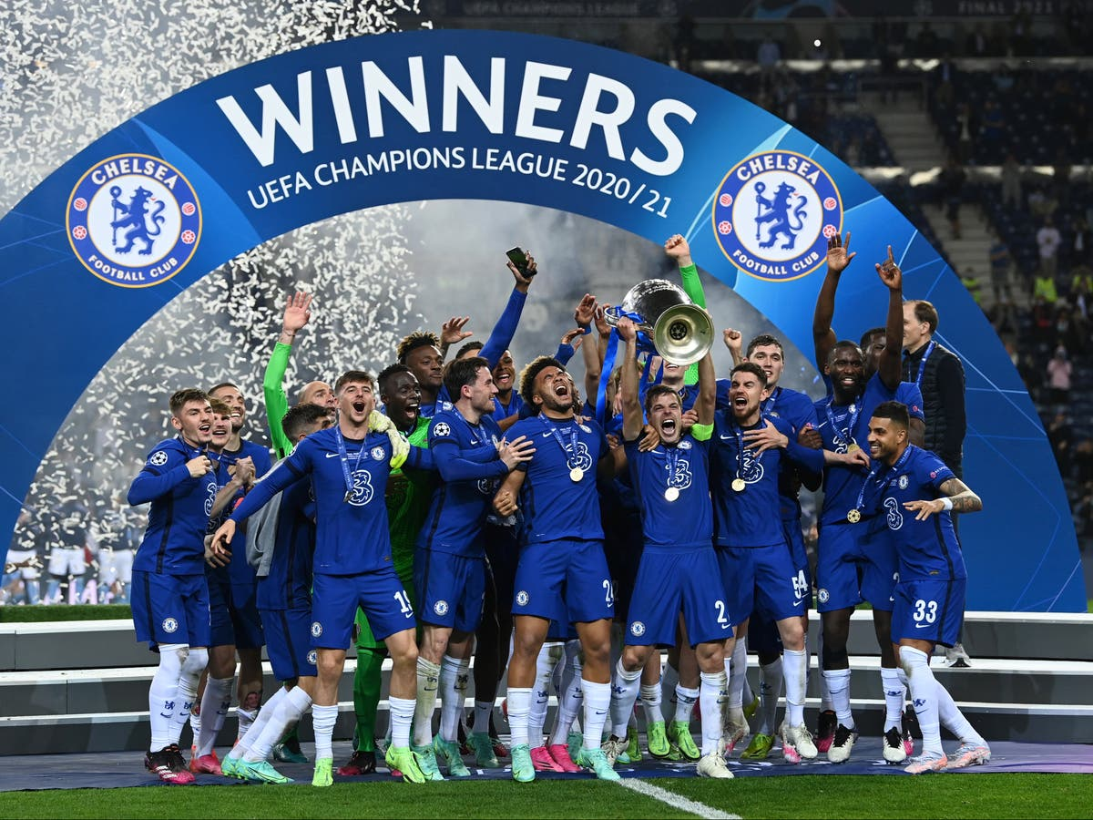Man City Vs Chelsea Result Champions League Final Score Goals And Report The Independent
