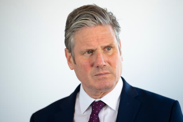 <p>Keir Starmer, leader of the Labour Party</p>