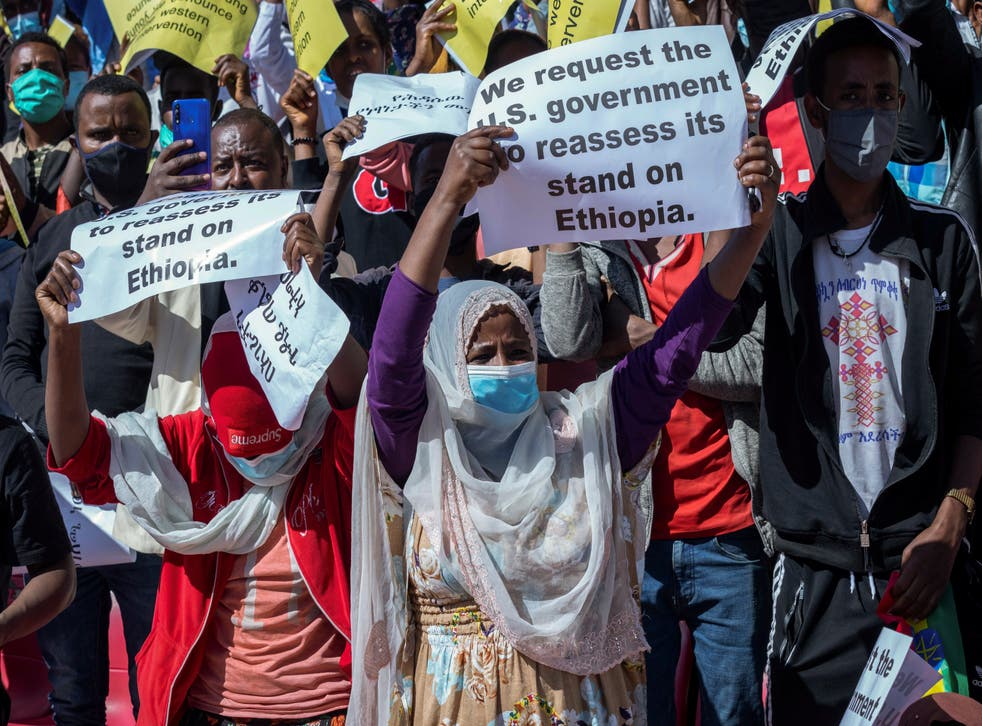 ETIOPIA-PROTESTAS