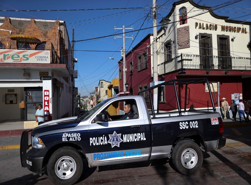 MEXICO-CACERIA DE POLICIAS