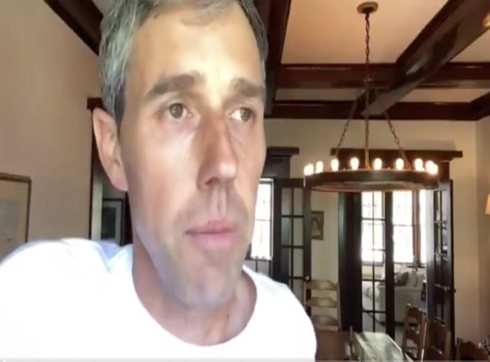 <p>Beto O'Rourke shared a series of videos outlining the issues with the Republican voting reform bill</p>