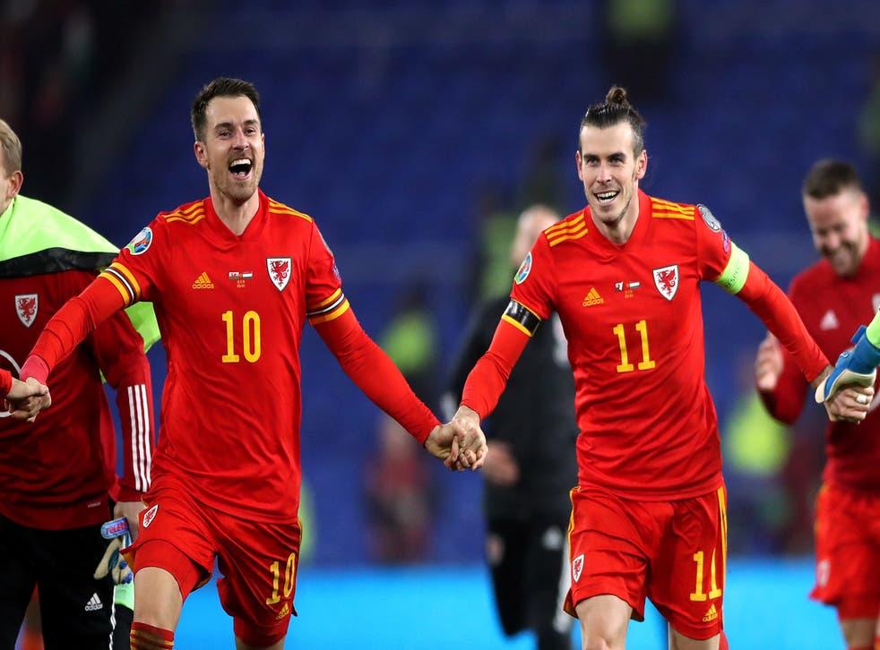 Aaron Ramsey and Gareth Bale
