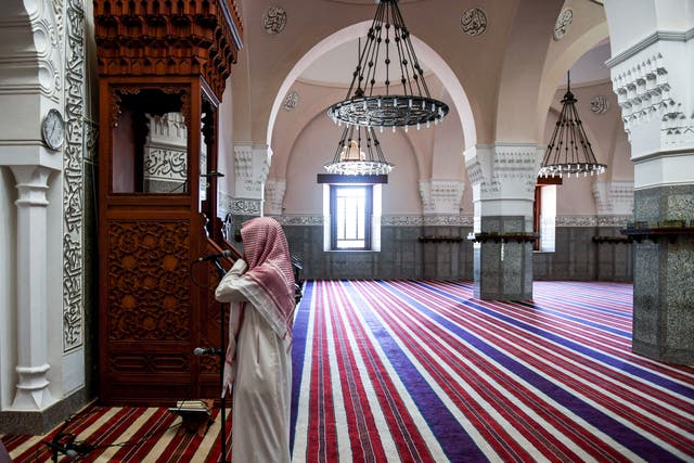 <p>File image: Restrictions on the volume of loudspeakers in mosques have received a mixed response in the country</p>