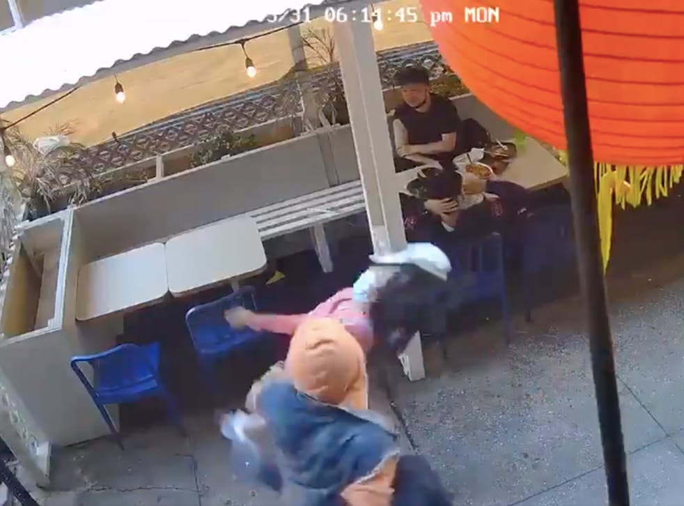 <p>File image: A 55-year-old woman was punched unprovoked by a man in Chinatown</p>
