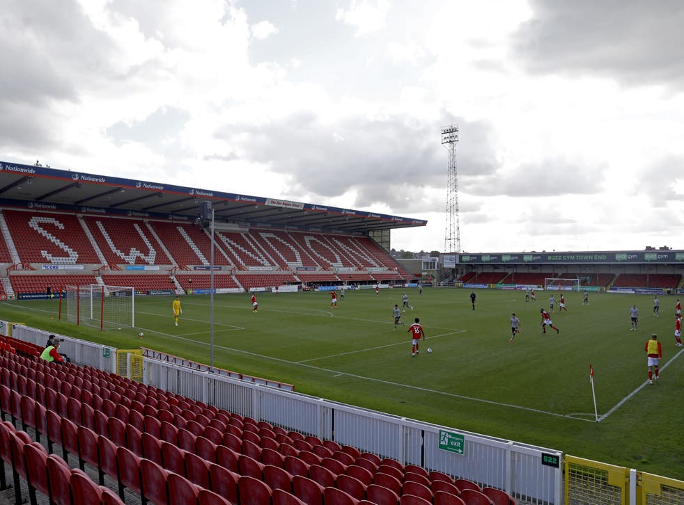 Swindon Town v Charlton Athletic – Carabao Cup – First Round – County Ground