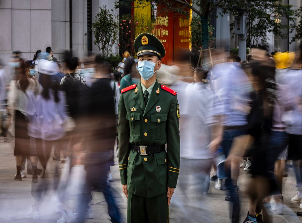 <p>File image: A representative image of a member of People's Liberation Army (PLA) of China</p>