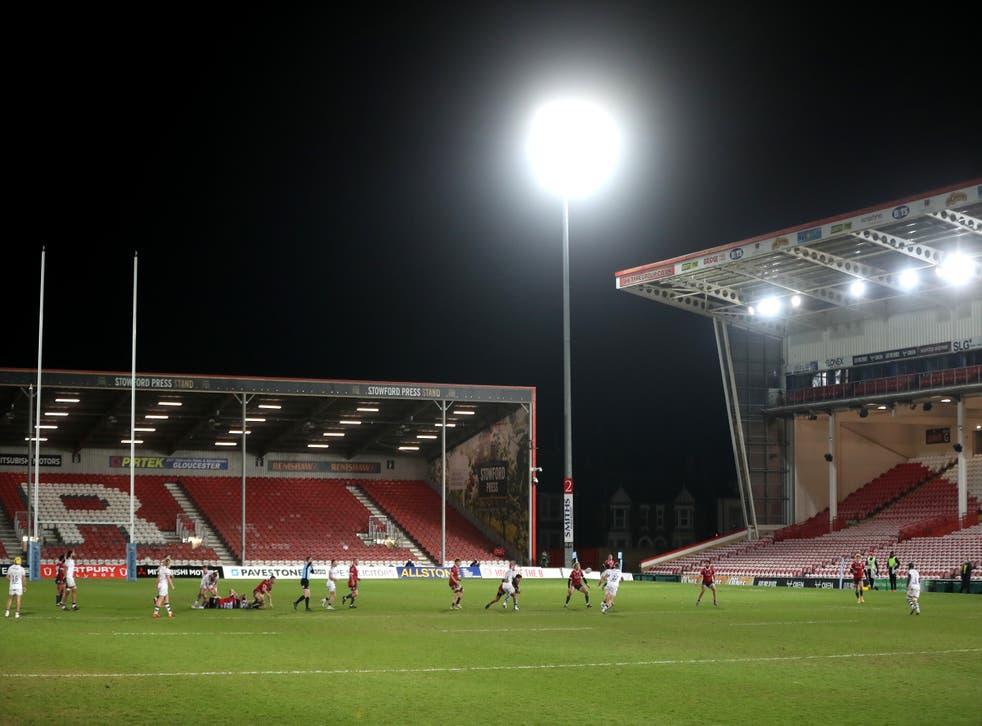 Gloucester triumphed at Kingsholm on Friday evening