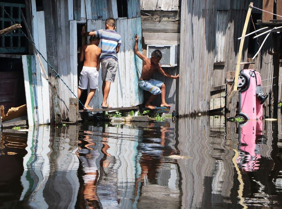 APTOPIX Brazil Amazon Floods