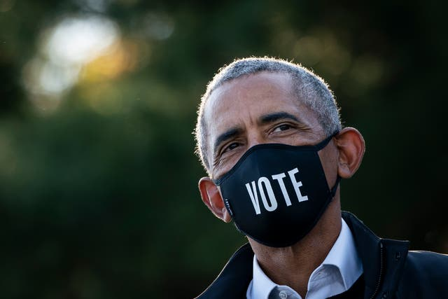 <p>Former president Barack Obama reportedly made a dark comparison between Donald Trump and OJ Simpson</p>