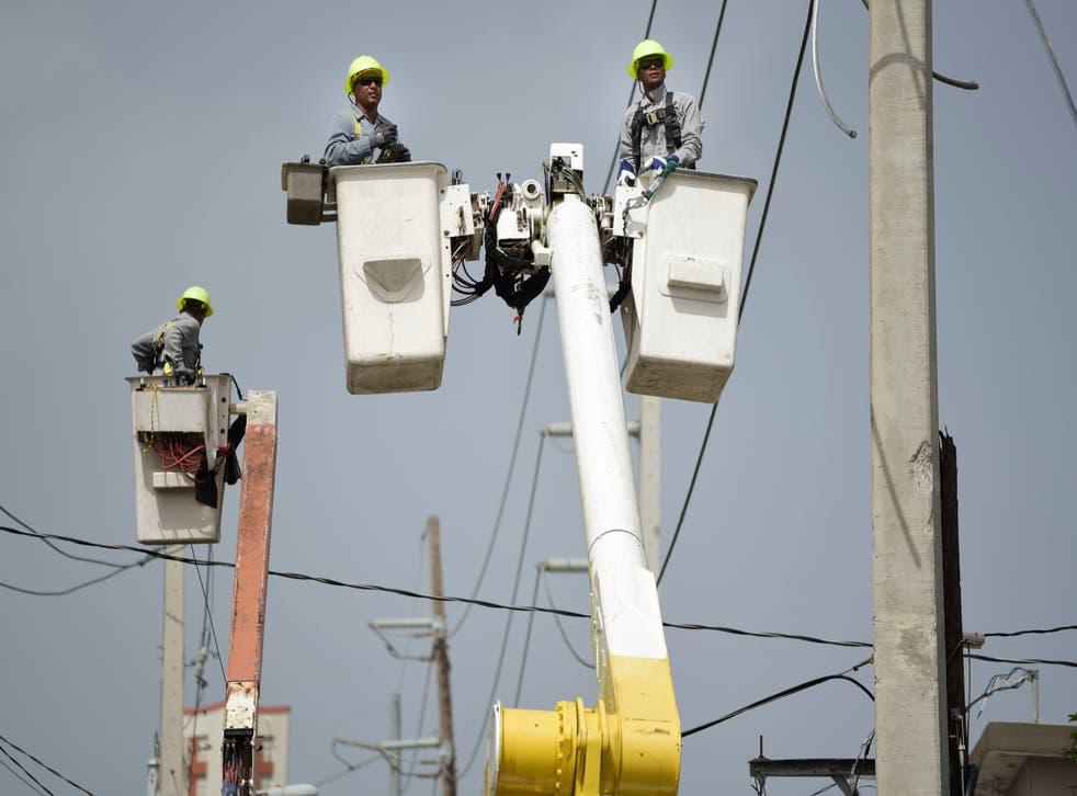 PUERTO RICO-ELECTRICIDAD