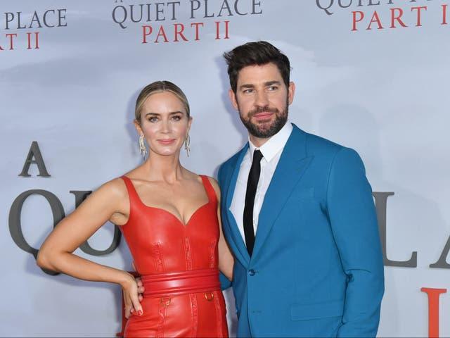 <p>Emily Blunt y John Krasinski en el estreno de A Quiet Place Part II el 8 de marzo de 2020 en la ciudad de Nueva York</p>