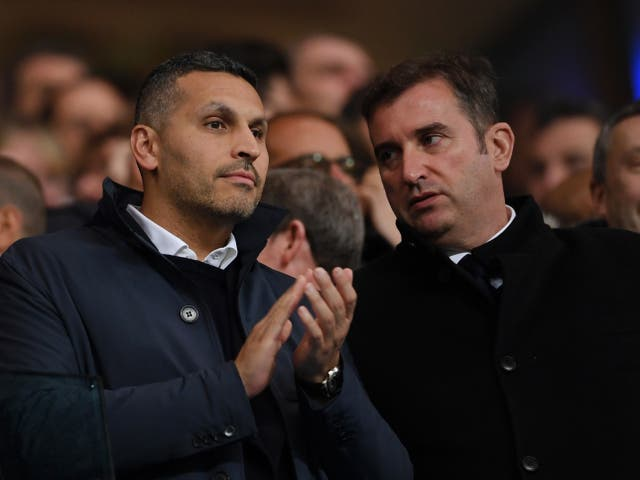 <p>Khaldoon Al Mubarak, the Manchester City chairman</p>