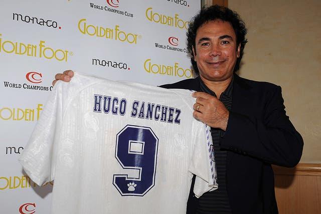 <p>Sánchez Márquez fue un ídolo de Real Madrid en la década de 1980</p>