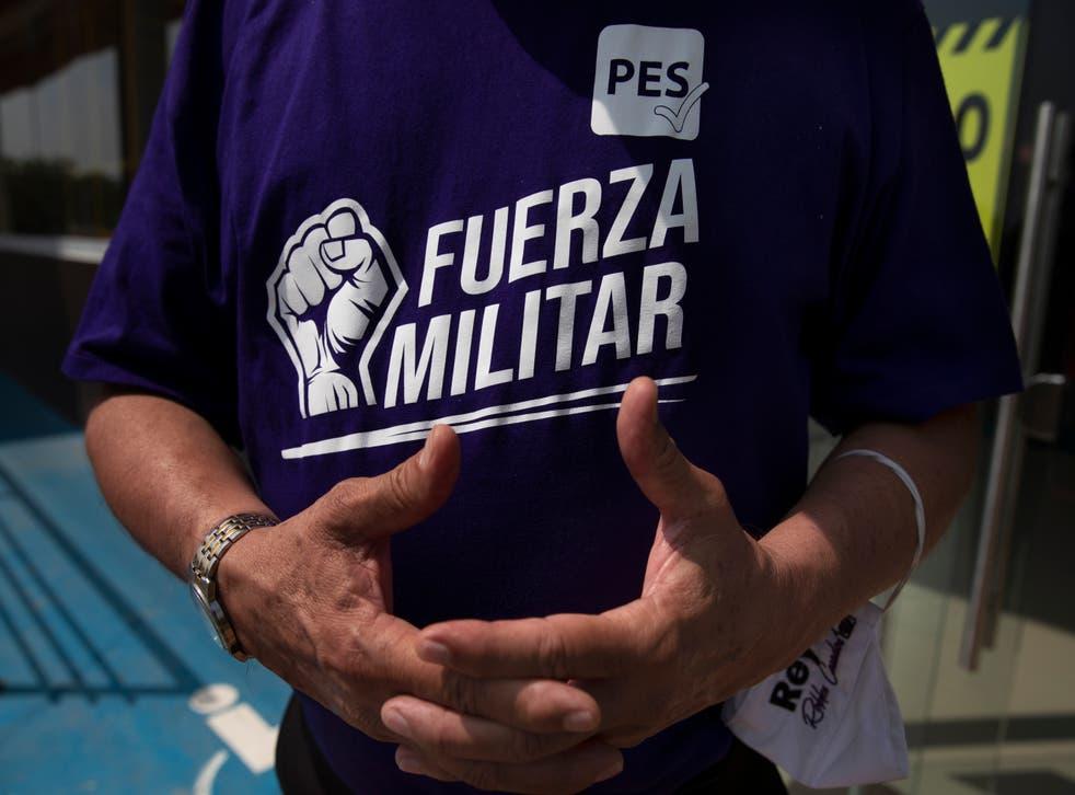 MÉXICO-CANDIDATOS MILITARES