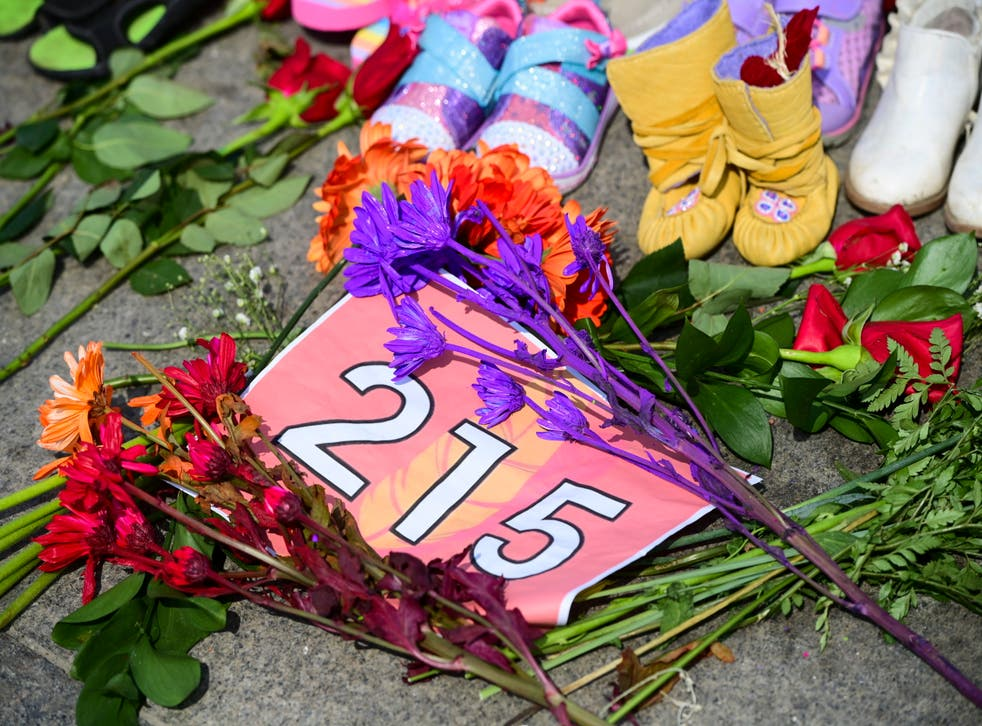 Canada-Indigenous-School-Deaths Memorial