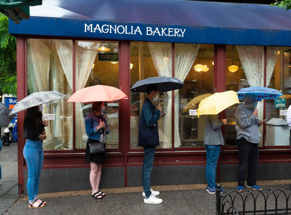<p>Big drip: Memorial Day plans were rained off</p>