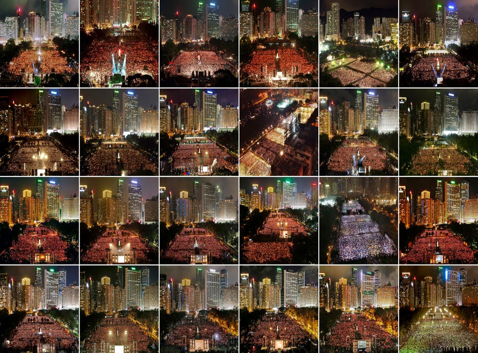 Hong Kong June 4 Vigil Photo Gallery
