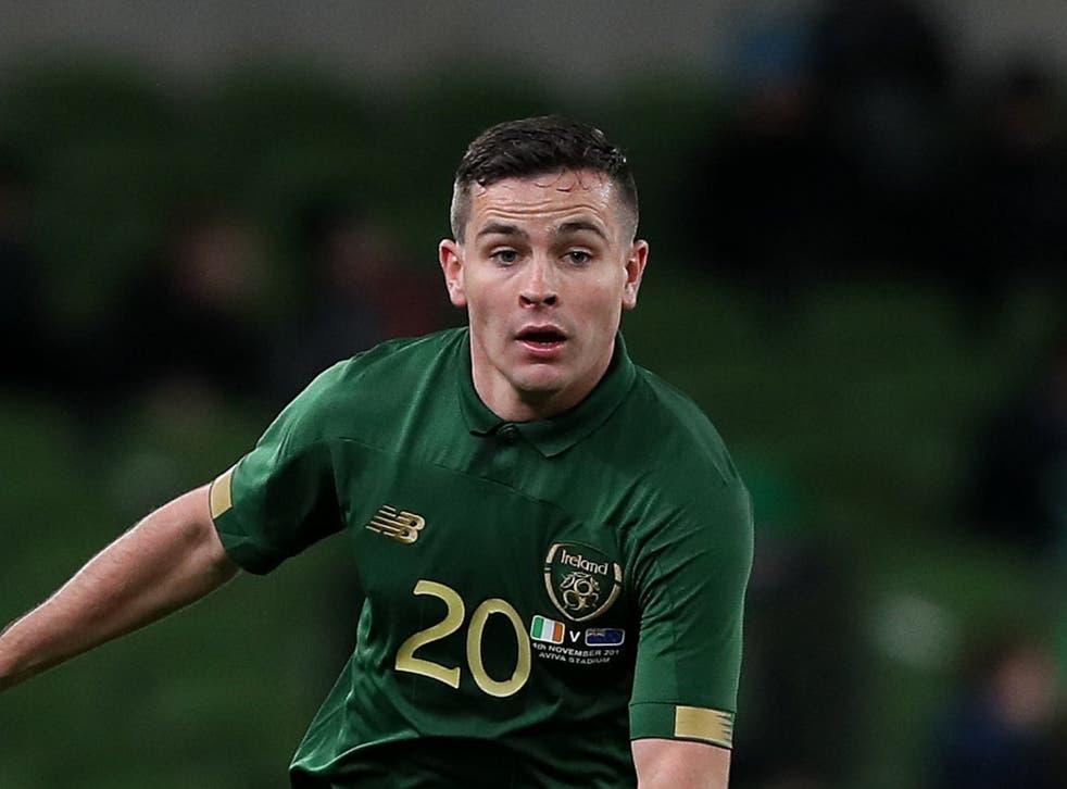 <p>Republic of Ireland midfielder Josh Cullen is relishing working under Anderlecht boss Vincent Kompany</p>