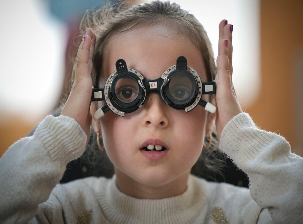 Romania Children Eye Tests
