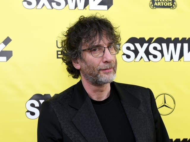 <p>Neil Gaiman pictured in 2019</p>