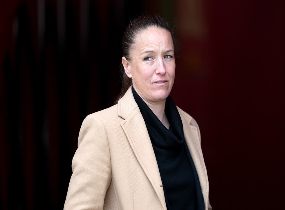 <p>Casey Stoney has hit out at online abuse she has received following links with the Wrexham job</p>