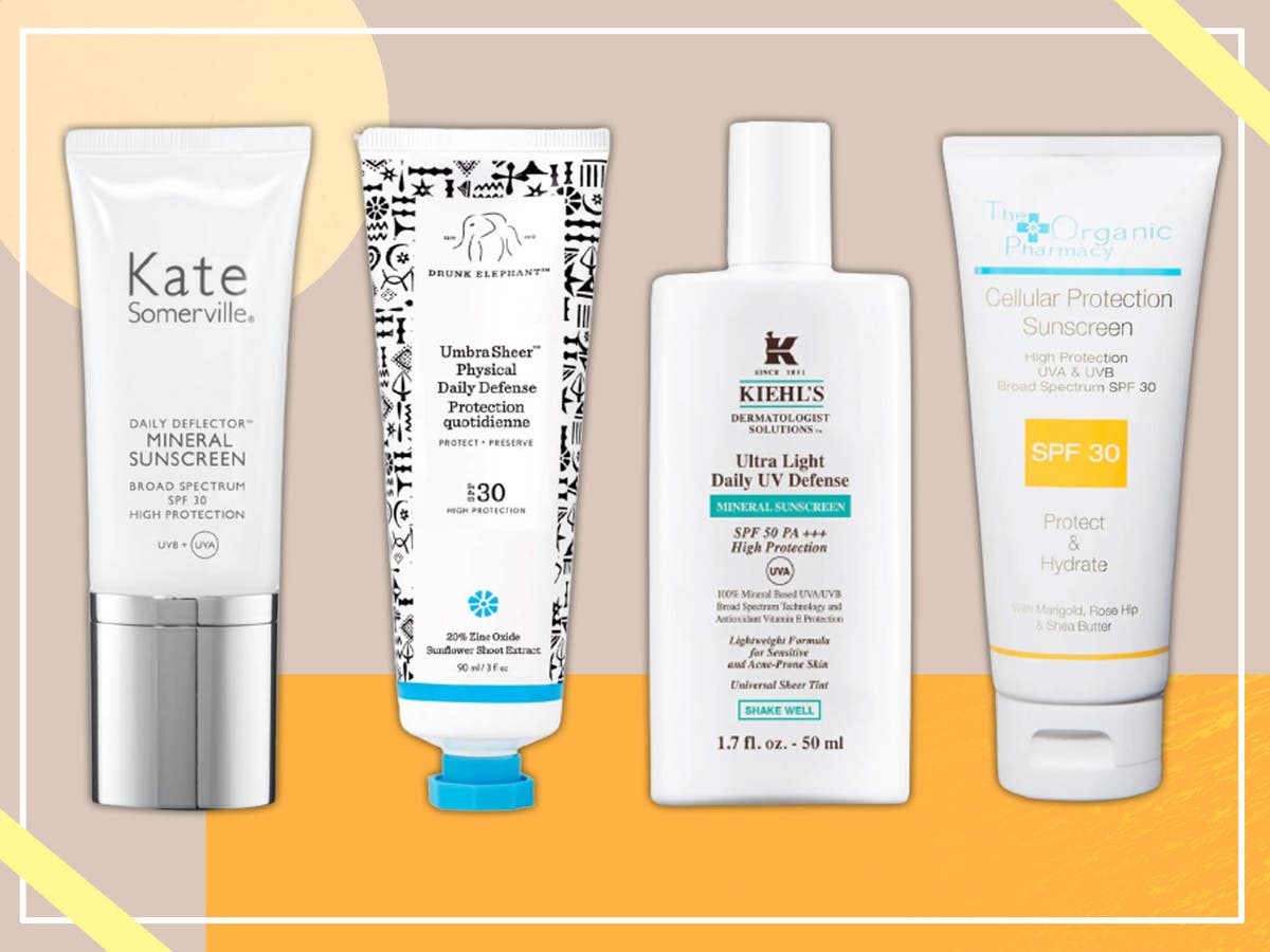 Best sunscreen for sensitive skin 10 Gentle and soothing SPF ...