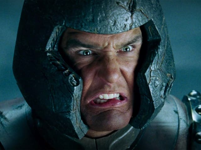 <p>Arrrghh: Vinnie Jones gives it his all as Juggernaut in 'X-Men: The Last Stand'</p>