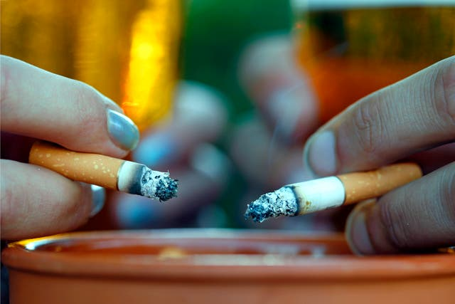 <p>'Of course, smokers and non-smokers alike can appreciate how bad even the occasional fag can be for us'</p>