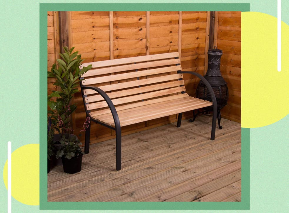 Best Garden Bench Wood And Metal, Timber Bench Outdoor Furniture