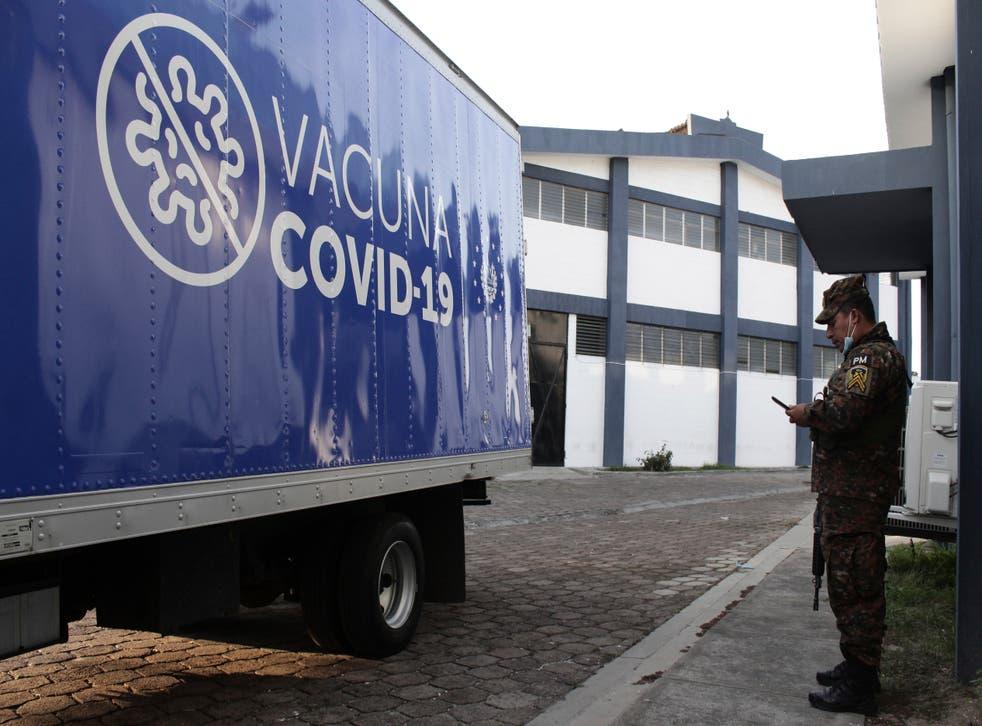 CORONAVIRUS-EL SALVADOR HONDURAS