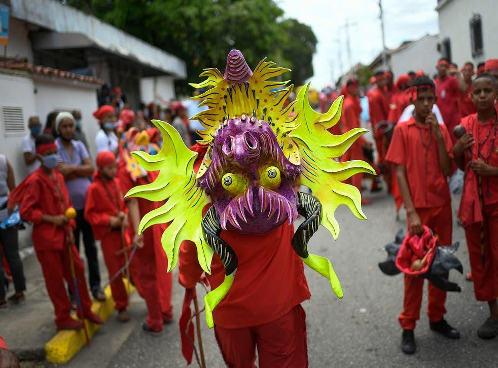 VENEZUELA-DIABLOS DANZANTES