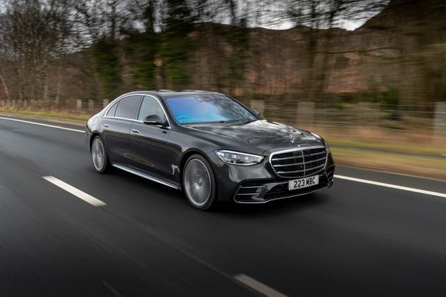 <p>The S-Class saloon: still sombre and serious, but with a side-order of fun</p>