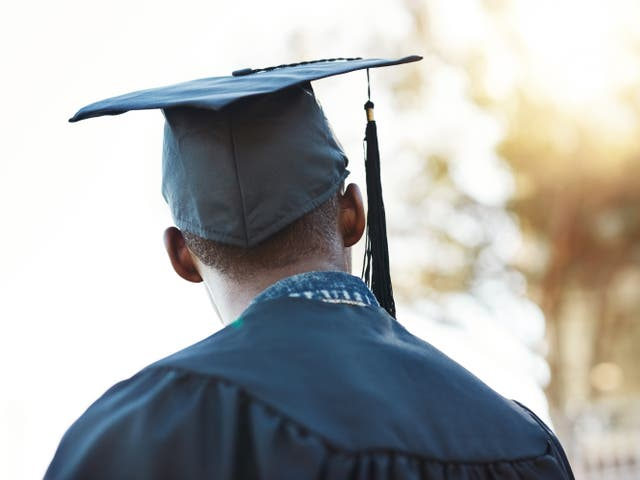 <p>Its publication comes months after a higher education watchdog said attainment gap between black and white students 'remains too high'</p>